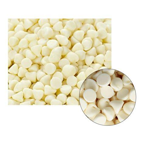 Choco Chips 1 white chocolate chips 4000ct