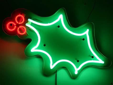 neon christmas lights neon signs for