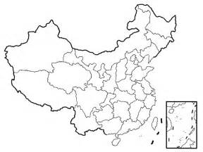 China Outline Map With Cities by China Blank Map Blank Map Of China China Travel Map