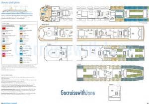 p o cruises oceana deck plan p o cruises 2012 2013 deck plans