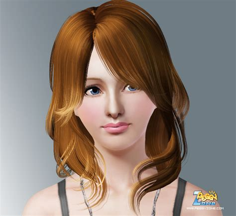 haircuts zone the sims 3 layered hairstyle id 01 by peggy zone