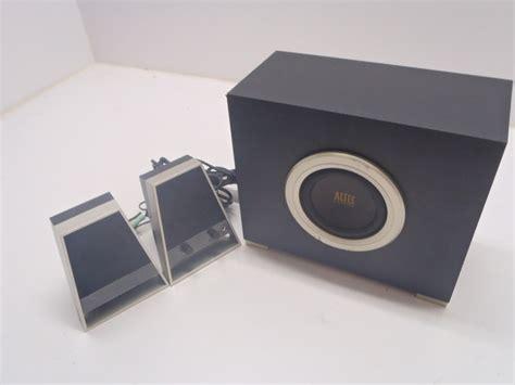 Speaker 2 1 Altec Lansing Vs2621 altec lansing vs2621 2 1 channel speaker system used ebay
