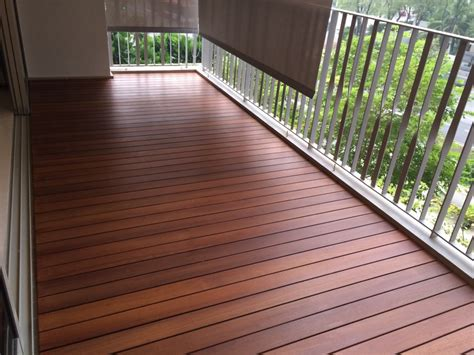 The Flooring Gallery by Balcony Decking In Singapore The Floor Gallery