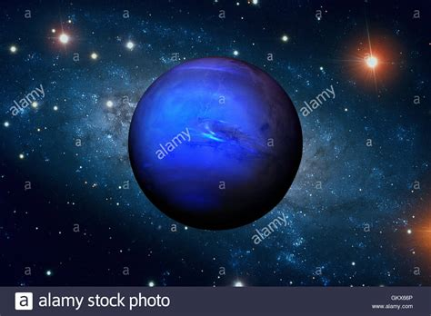 Planet Neptune by Solar System Neptune It Is The Eighth And Farthest