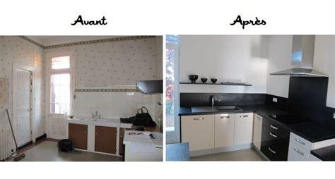 r駭ovation cuisine avant apr鑚 rnovation cuisine avant aprs cheap renovation cuisine