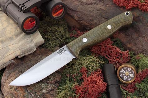 bark river knives gunny fixed 3 775 quot a2 tool steel