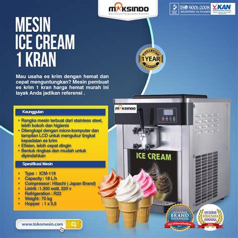 Freezer Es Krim Bandung jual mesin es krim 1 kran japan compressor di bandung