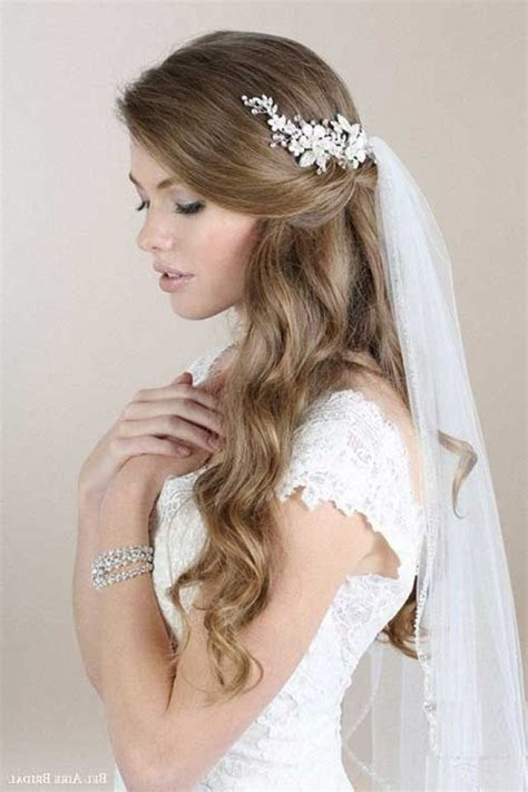 Pictures Of Wedding Hairstyles For Hair With Veil by Wedding Hairstyles Hair With Veil Regarding Home