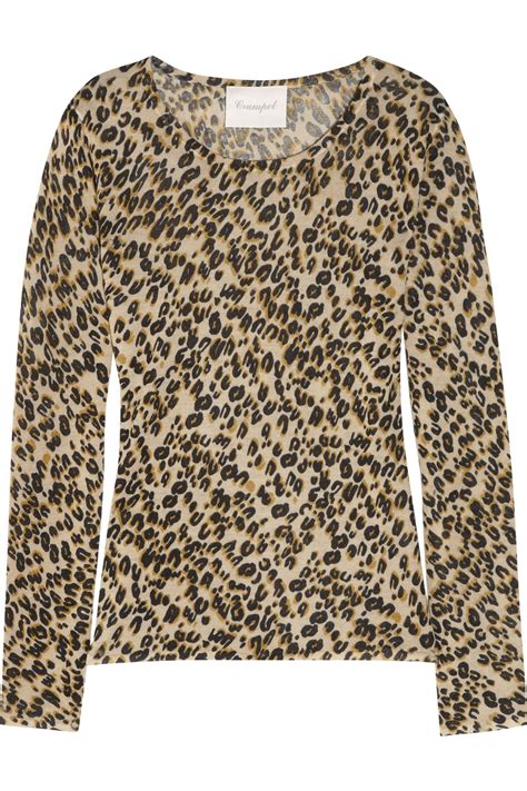 Aniimal Sweater crumpet leopard print sweater in animal leopard lyst
