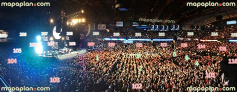 allstate arena seating chart concert allstate arena view from section 202 row a seat 28
