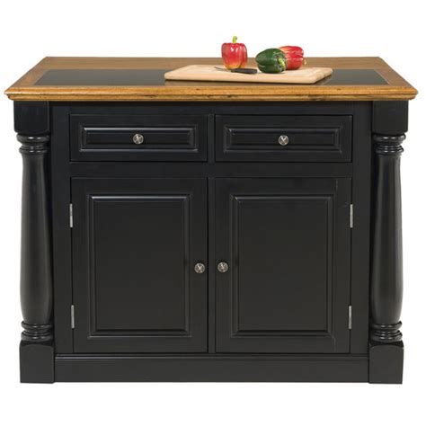 cottage style kitchen island with granite insert small home styles monarch kitchen island with granite insert top
