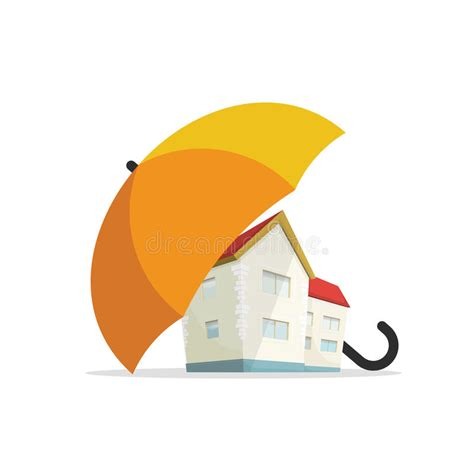 house insurance concept home real estate protected