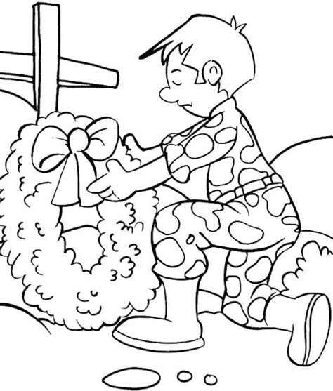 coloring pages remembrance day remembrance day pictures coloring home