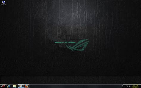 download theme windows 7 republic of gamers rog wallpaper theme pack wallpapersafari