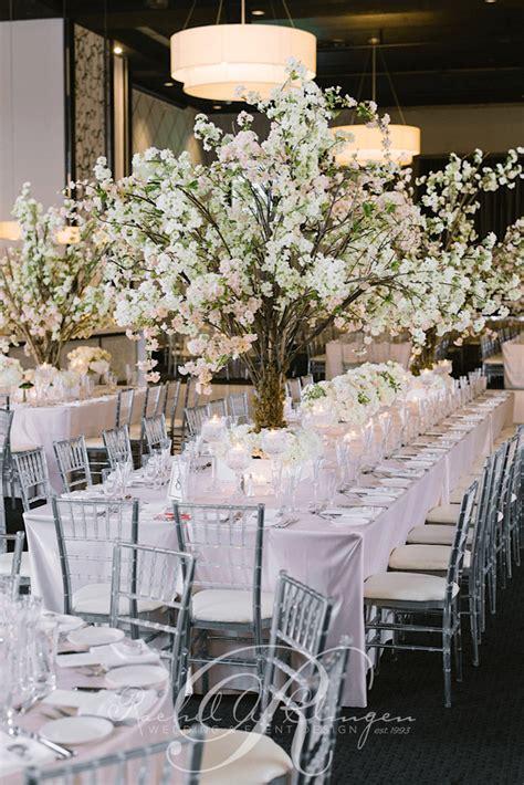 cherry blossom table centerpieces centerpieces wedding decor toronto a clingen