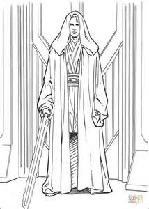 anakin skywalker coloring page free printable coloring pages