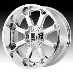 Xd Chrome Truck Wheels Kmc Xd Series Xd825 Buck 25 Chrome Custom Wheels Rims Xd
