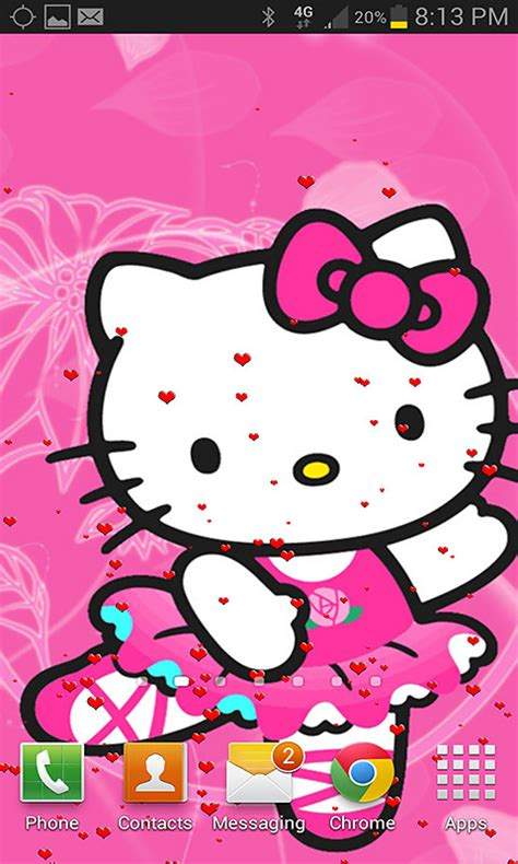 Live Wallpaper Of Hello Kitty | hello kitty live wallpaper free android live wallpaper