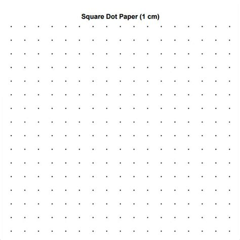 printable square dotted paper 11 sle dot papers sle templates