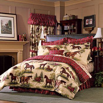 horse bedroom sets horse queen size bedding product kentucky farm horses