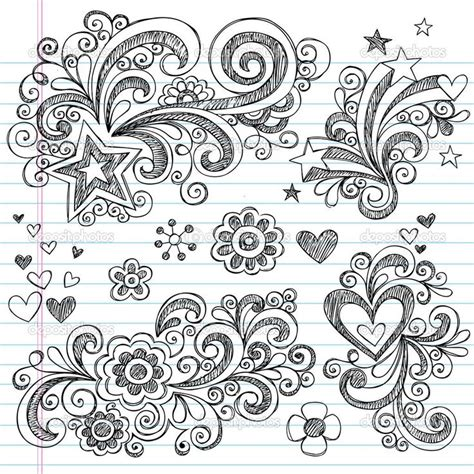 doodle meaning hearts flower doodle watercolors doodles