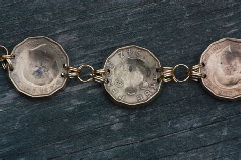 wwii pow made bracelet with modern alterations
