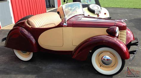 bantam car vintage micro 1939 american bantam roadster