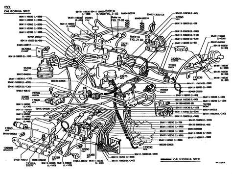 toyota 3 0 engine diagram air valve wiring diagrams