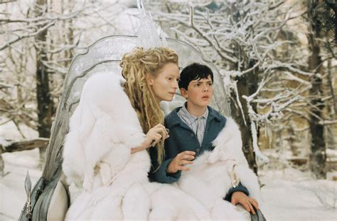 The The Witch And The Wardrobe by Pin Still Of Tilda Swinton In The Chronicles Of Narnia