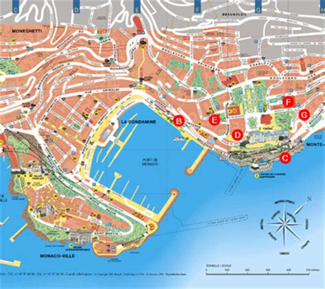 map of monte carlo monte carlo map gallery
