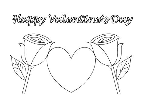 Valentines Day Coloring Pages Getcoloringpages Com Happy Valentines Day Hearts Coloring Pages