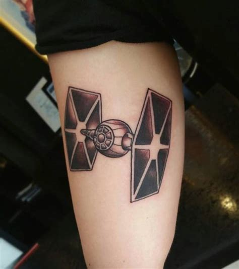 tie fighter tattoo your favorite wars from this lineup