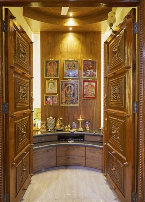 pooja room storage designs pooja room shelf design ideas