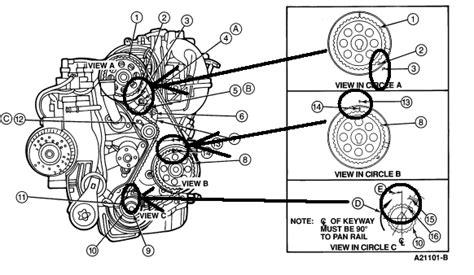 1997 ford ranger timing belt can i get a diagram 2 3l 1994 ranger timing belt not sure