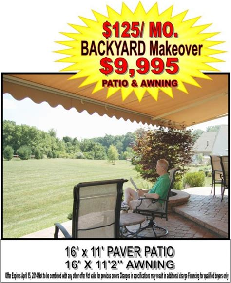 patio awnings sale patio awning sale extreme backyard makeover milanese remodeling