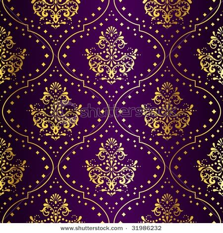 indian pattern pinterest love the deep purple hue and gold foil in this wallpaper