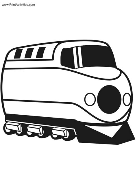 train coloring page diesel engine
