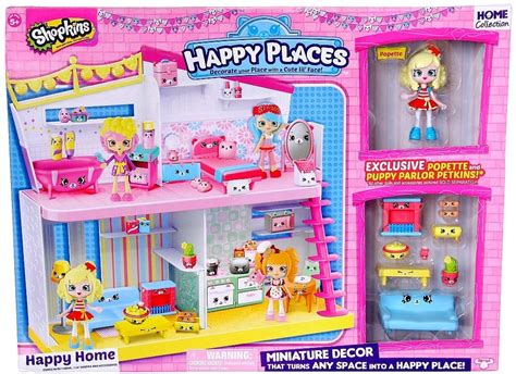 House Playset Limited shopkins happy places happy home playset moose toys toywiz