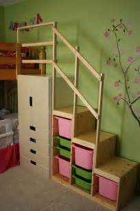 bunk beds with stairs easy height bunk bed stairs ikea hackers ikea hackers