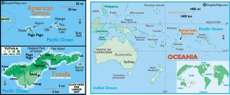 map of samoa and american samoa american samoa map and american samoa satellite image