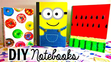 ideas for school diy ideas for back to school notebook ideas pink and