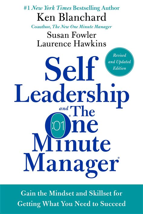 One Minute Manager self leadership the one minute manager ken blanchard books
