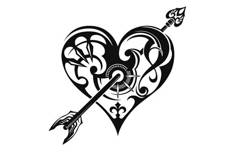 tribal heart tattoos meaning arrow tattoos designs ideas and meaning tattoos for you