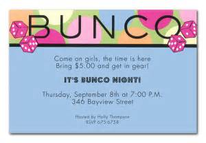 bunco by invitation consultants in 1 2888