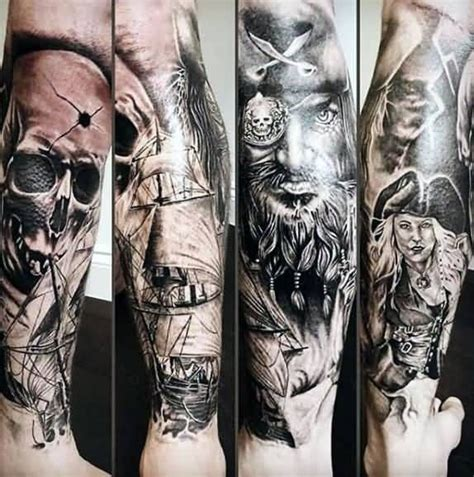 skeleton crew tattoo 25 best ideas about pirate skull tattoos on
