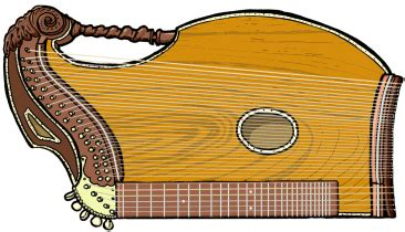 chordophone zither family