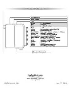 wiring diagram scytek electronics astra 777 user manual page 28 28
