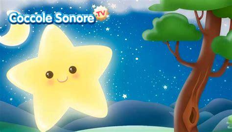 canzone stella stellina la notte si avvicina testo coccolesonore