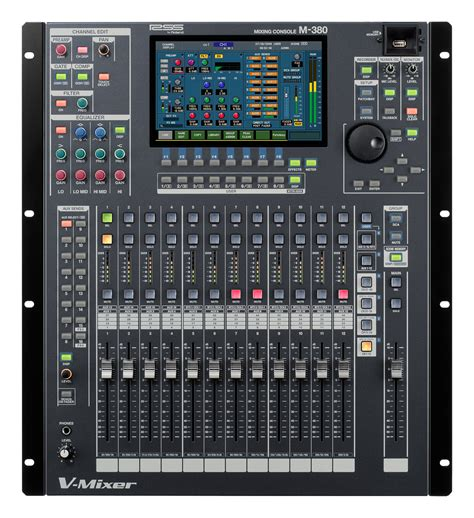 Mixer Audio Roland Roland M 380 Digital Mixing Console News Audiofanzine