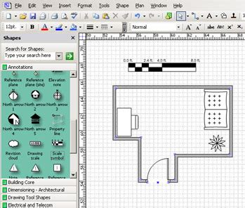 Visio Floor Plan Scale by Part 4 Inside Scaled Drawings Microsoft Office Visio
